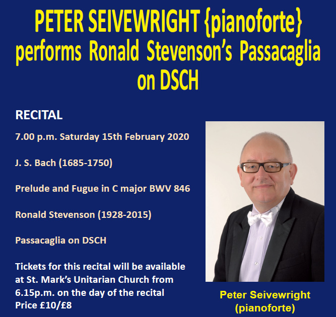 Peter Seivewright performs Passacaglia